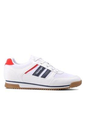 Slazenger ACTIVE Sneaker Kadın Ayakkabı Beyaz SA11LK037