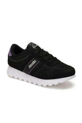 Kinetix Siyah Mor Kadın Sneaker