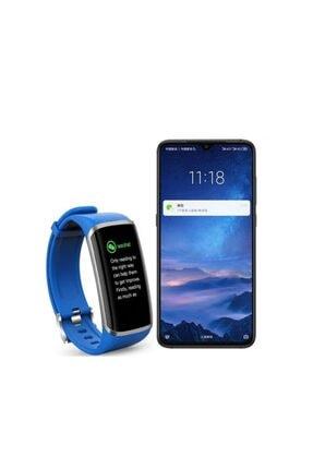 Profisher Akıllı Spor Bilezik Saat Kalp Hızı Kan Basıncı Android Ios Uyumlu