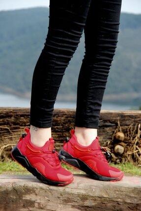 Forza Unisex Kırmızı Ultra Hafifi ve Esnek Spor Ayakkabı