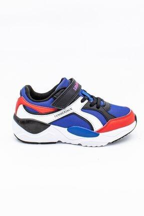 lumberjack Mavi Kırmızı Çocuk Spor Ayakkabı