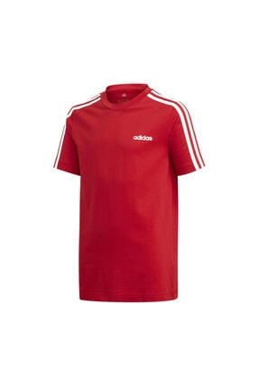 adidas YB E 3S TEE Kırmızı Erkek Çocuk T-Shirt 100630836