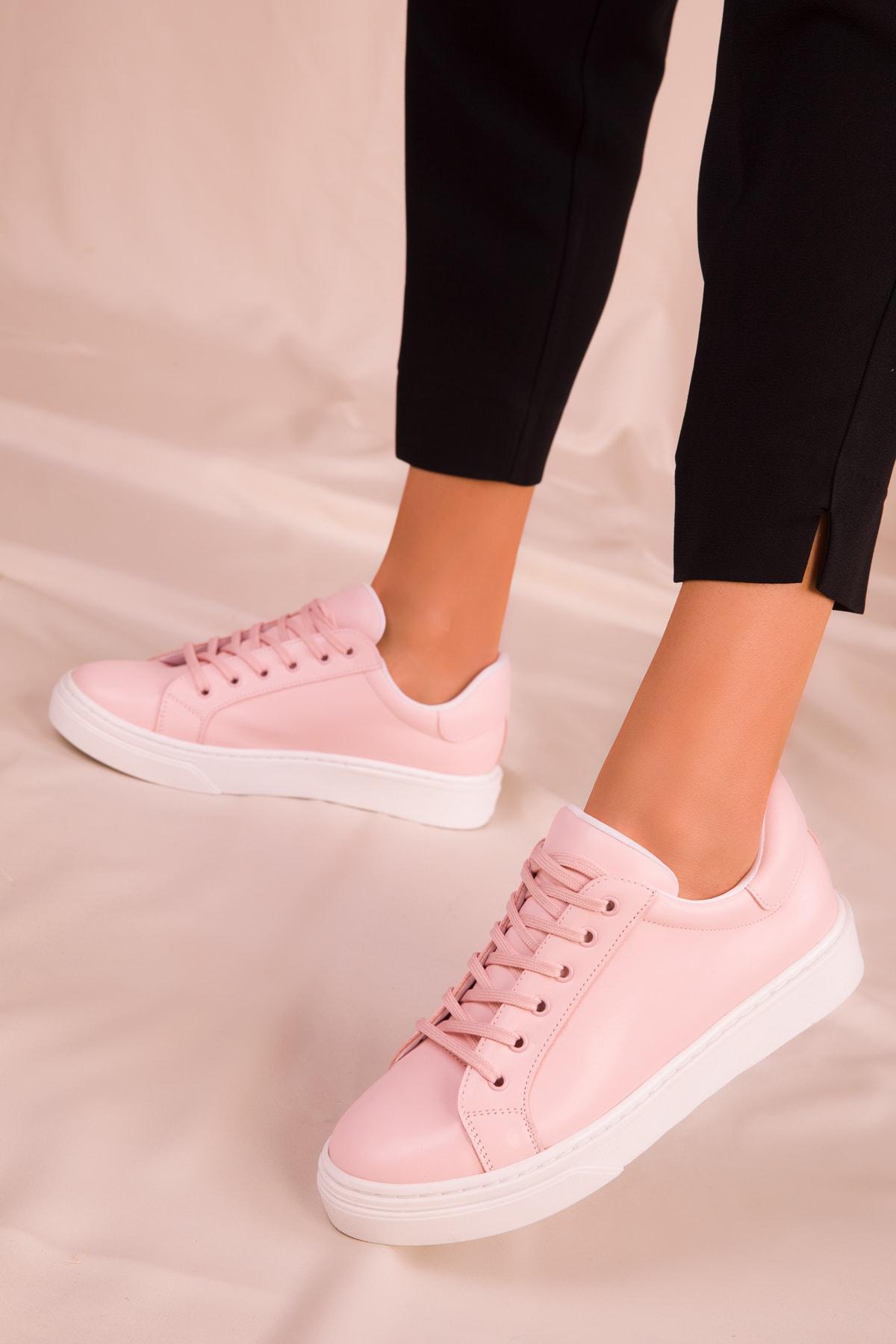 SOHO Pudra Kadın Sneaker 14395 1