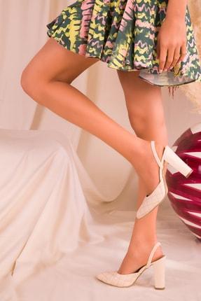 SOHO Ten Kapitone Kadın Klasik Topuklu Ayakkabı 16023