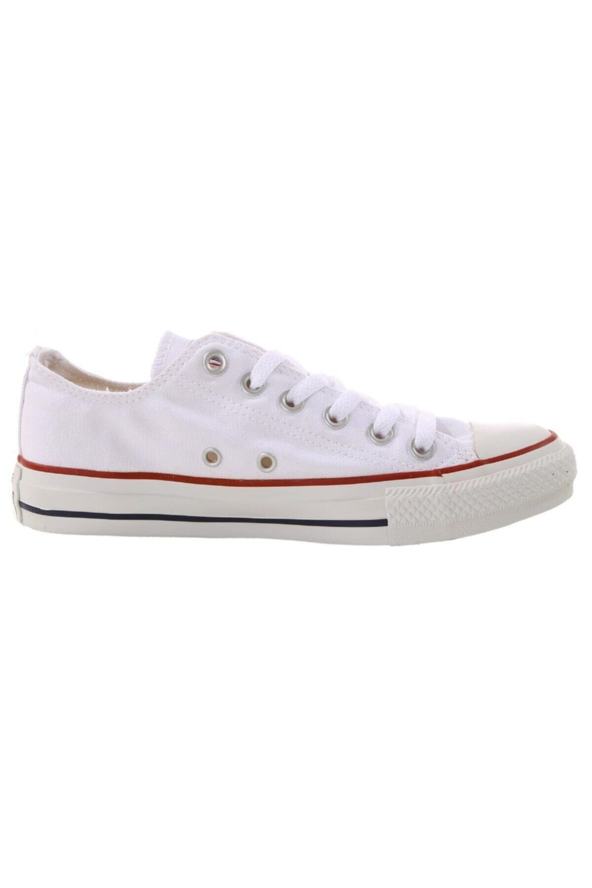 converse Kadın Beyaz Sneaker M7652c Chuck Taylor All Star Optıcal White Canvas 1