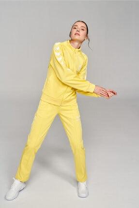 HUMMEL Kadın Sarı Genesıs Fermuarlı Sweatshırt