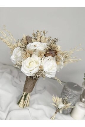 Almila Store Yeni Sezon Kuş Otu Güzeli Gelin Buketi Ve Damat Yaka Çiçeği