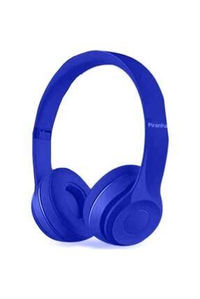 Piranha X36-39 Tm2102 Mavi Kulak Üstü Kablolu Mikrofonlu Kulaklık Mavi 2102