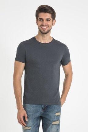 Loft Erkek Antrasit Kısa Kol T-shirt Lf021165