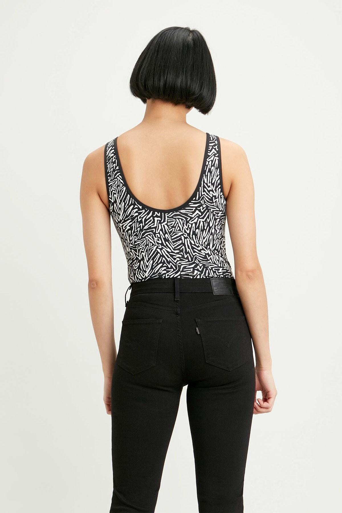 Levi's Kadın Florence Bodysuit T-shirt Zıbın 57787-0020 2