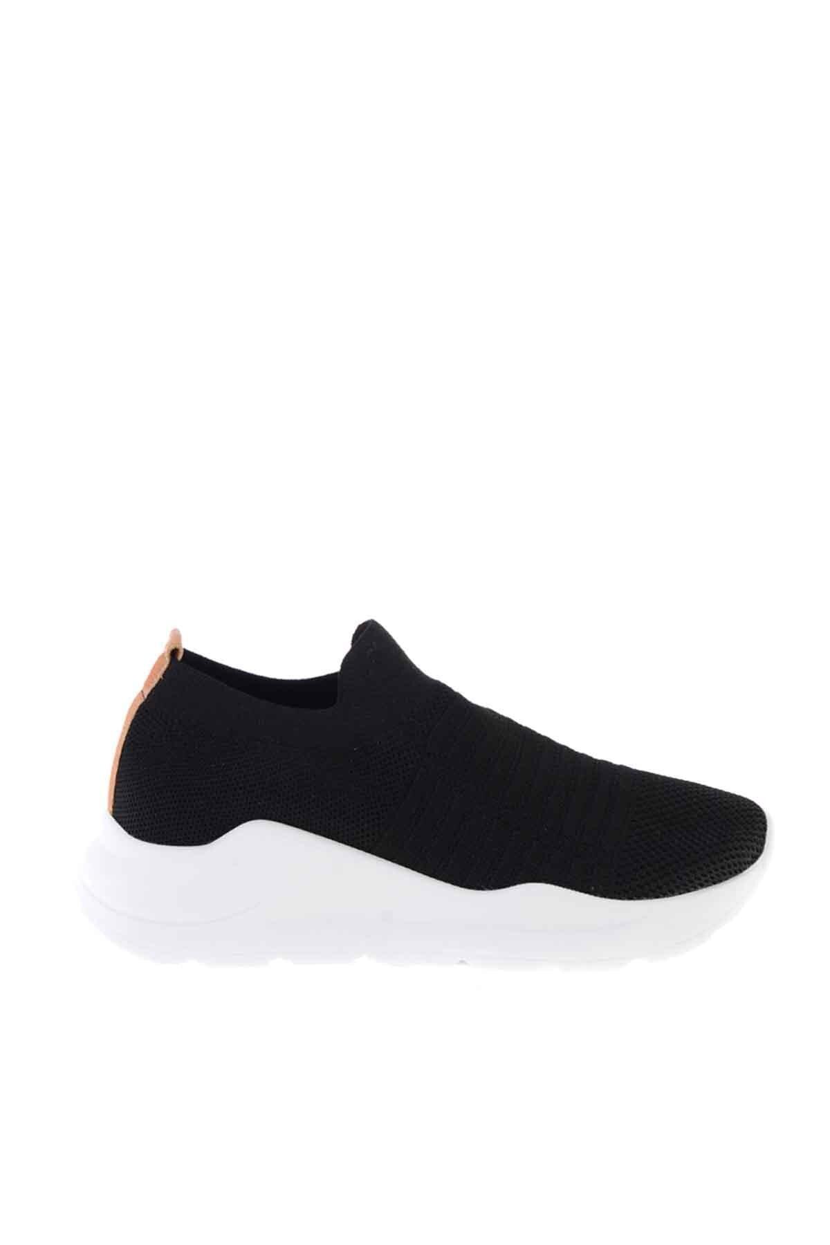 Bambi Siyah Kadın Sneaker K01673050582 2