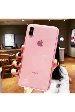 Molly Iphone Xs Max Uyumlu Pembe Crystal Süper Şeffaf Silikon Kılıf