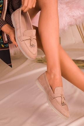 SOHO Vizon Süet Kadın Casual Ayakkabı 16075