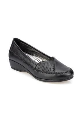 Polaris Siyah Kadın Comfort Ayakkabı