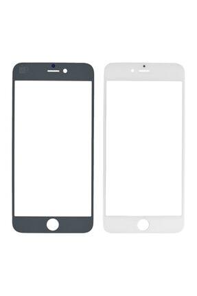 OEM Iphone 6 Plus Için Dokunmatik Lens + Oca - Beyaz