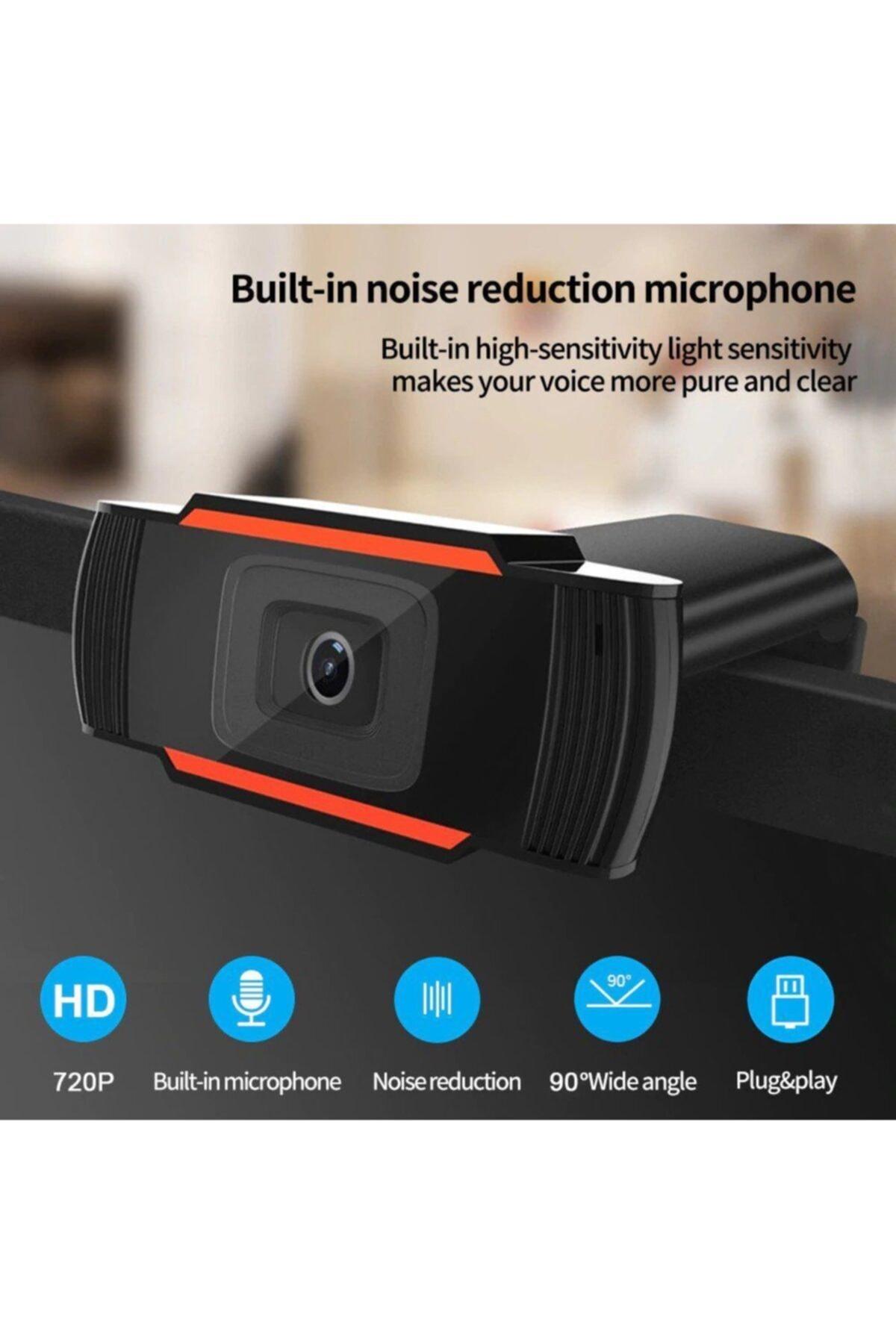 TechStore Webcam 720p Hd Mikrofonlu 2