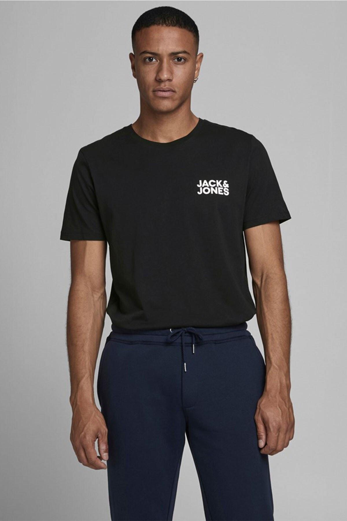 Jack & Jones Jack&jones Essentıals Erkek T-shirt Black 1