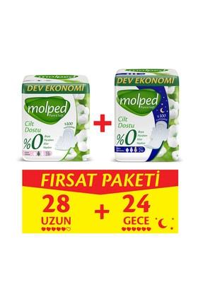 Molped Pure&Soft Uzun 28 Adet + Gece 24 Adet Fırsat Paketi