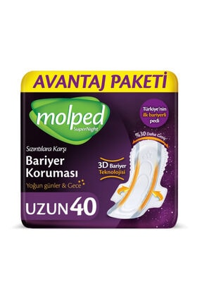 Molped Supernight Uzun Avantaj Paketi 40 Adet
