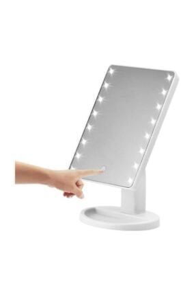 Aprilla Xx-52 Alm 9905 Led Işıklı Makyaj Aynası () Siyah Ve Beyaz Renk