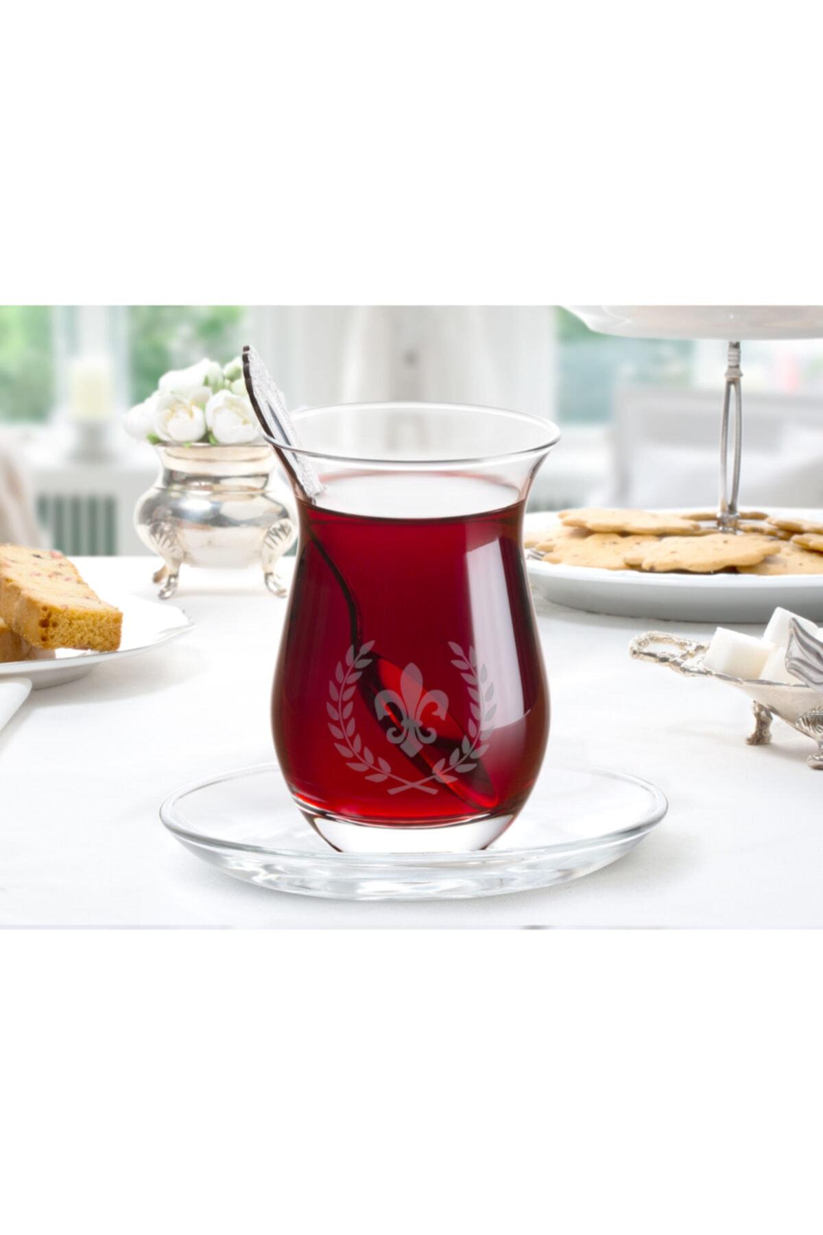 Madame Coco Fleur De Lys 6'lı Çay Bardağı 1