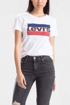 Levi's Kadın Beyaz T-shirt 17369-0297