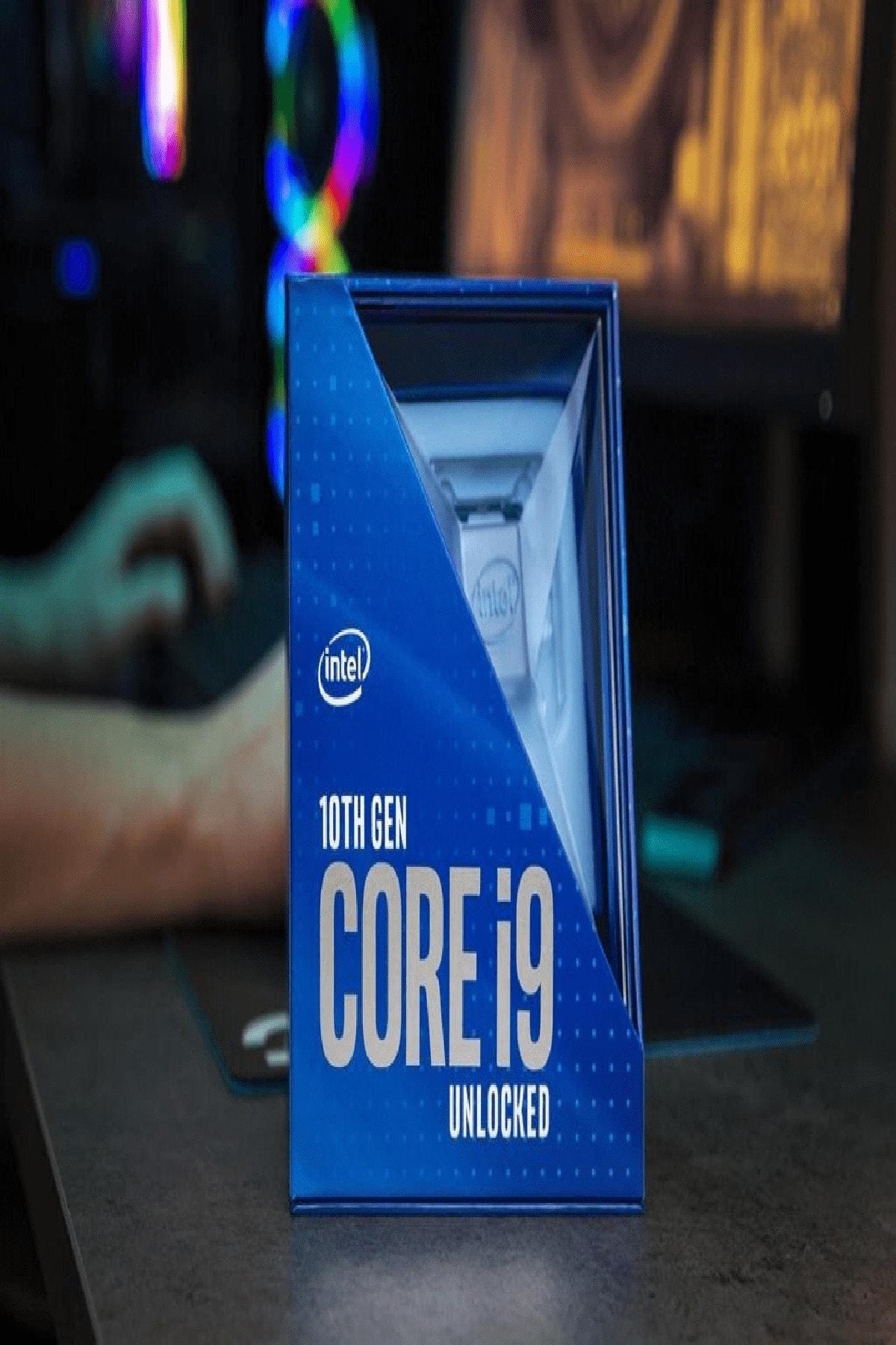 Intel Comet Lake I9-10900k 1200pın (box) 1