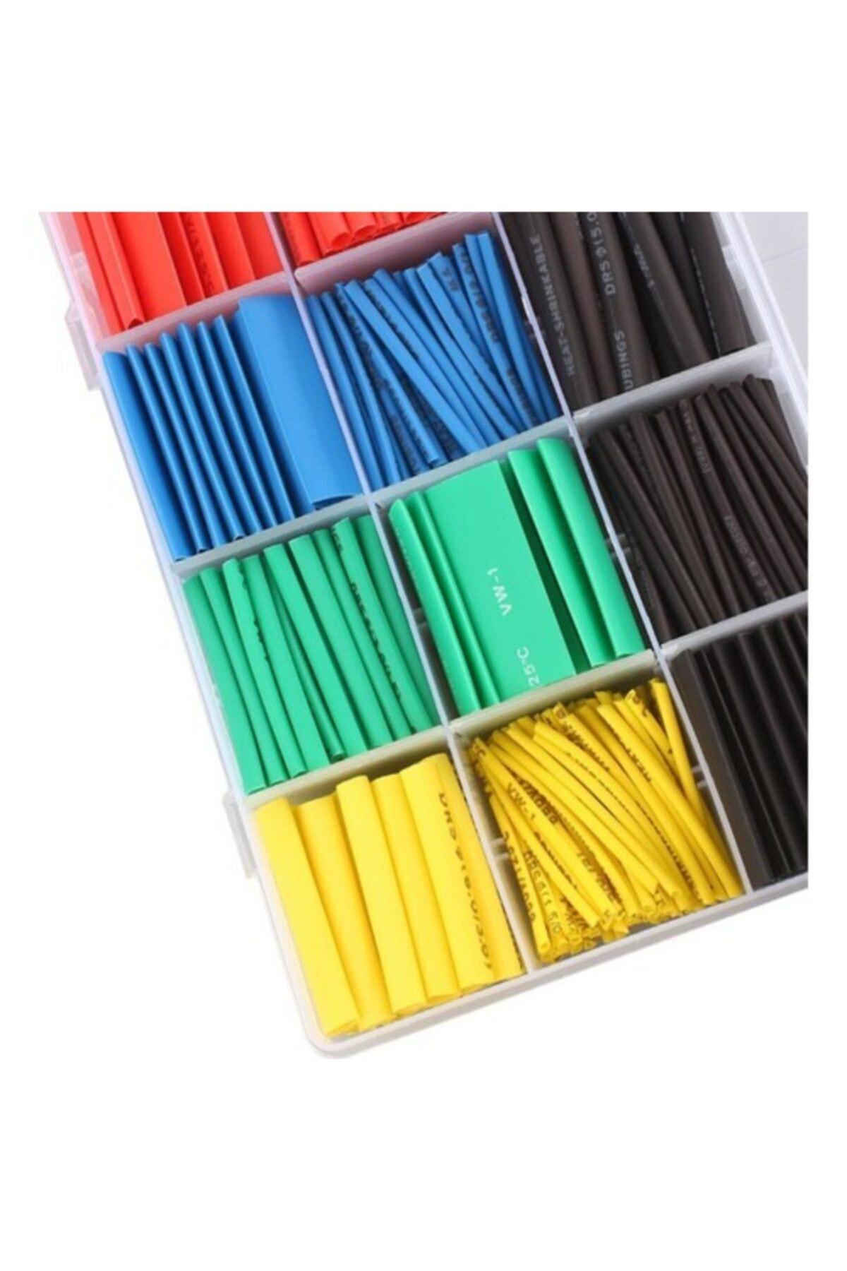 Arduino Isı Shrink Boru Daralan Makaron Kablo Yalıtım - 580 Adet 16 Boy 2