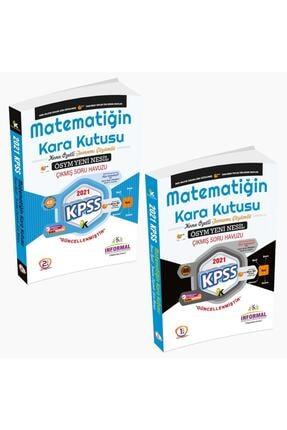 İnformal Yayınları 2021 Kpss Matematiğin Kara Kutusu Tamamı Çözümlü Konu Özetli Çıkmış Soru Bankası Set Paket
