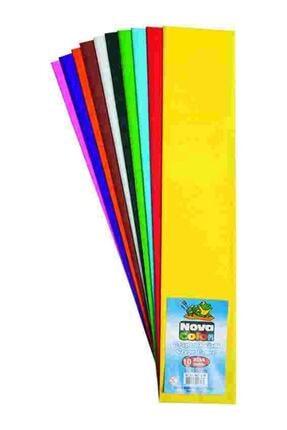 Nova Color Grapon Kağıdı 10 Adet Karışık Renk Kampanyalı