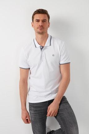 Buratti Erkek Beyaz Polo T-Shirt Polo 5902118