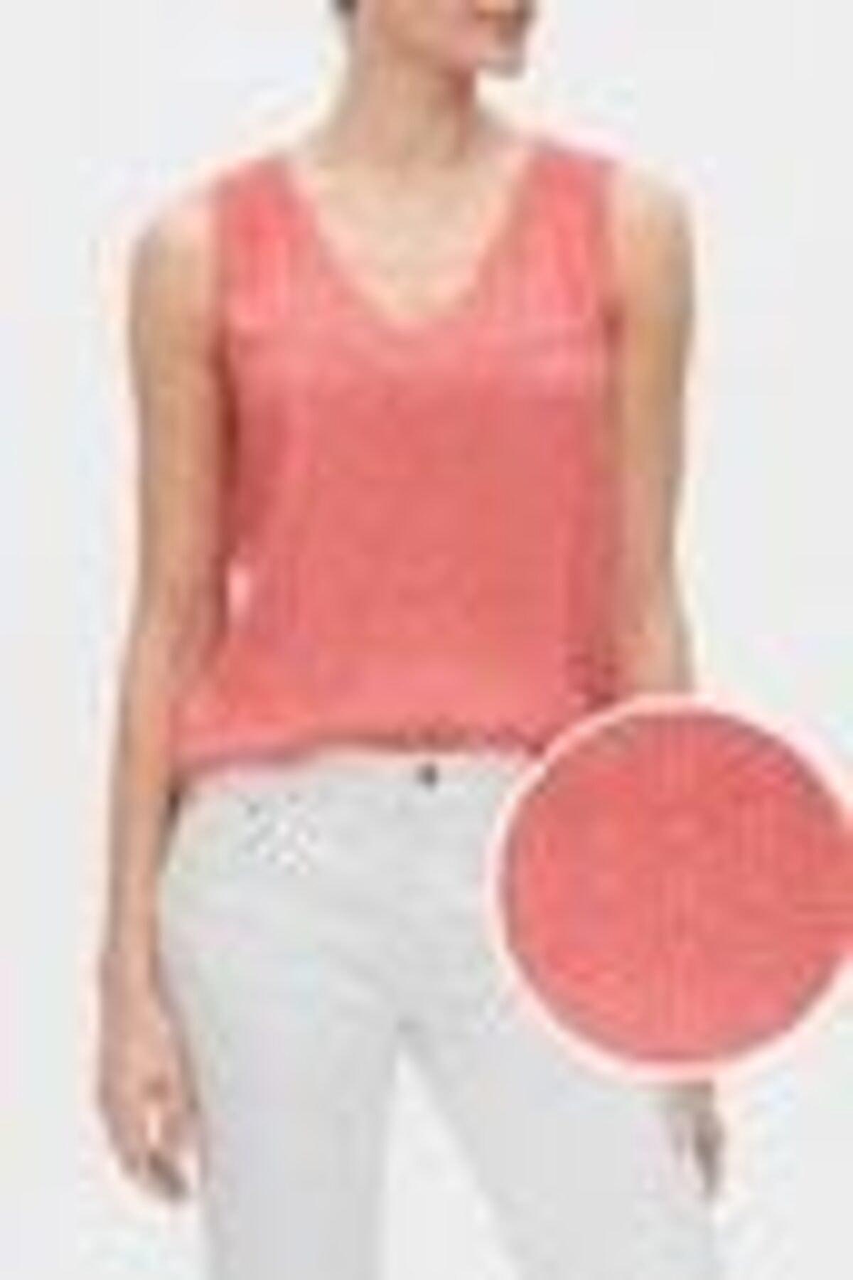 GAP Kadın V Yaka Bluz 547939 1