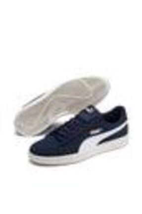 Puma Puma Smash V2 Buck Mavi Beyaz Erkek Sneaker Ayakkabı 100407802