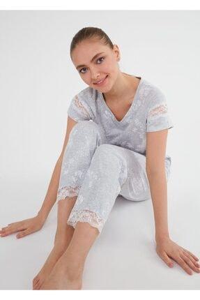 SUWEN Griss Pijama Takımı