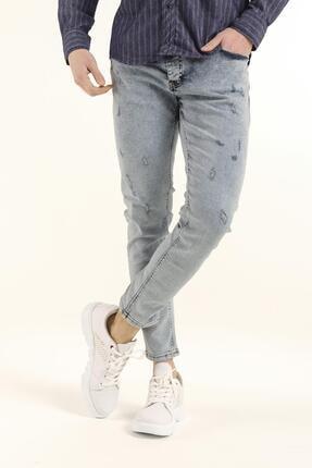 Oksit Reax 302 Slim Fit Likralı Erkek Jean Pantolon