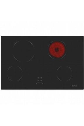 Silverline VC5338B01 Vitroseramik Ankastre Ocak Siyah Siyah
