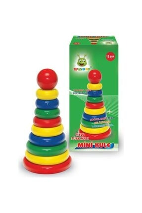 KARSAN Woodoy Mini Kule Oyuncak Kt-kr008