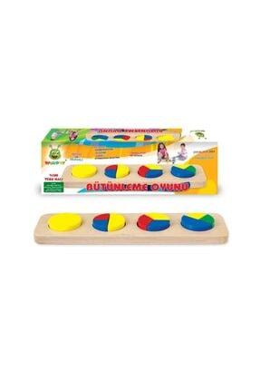 KARSAN Woodoy Ahşap Bütünleme Oyunu Oyuncak Kt-kr032