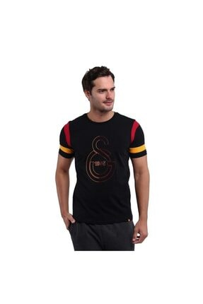 Galatasaray Çizgili Logo Tshirt