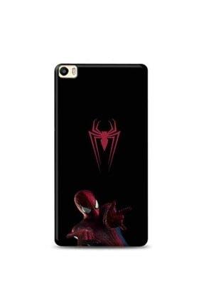 Desing World Uyumlu Huawei P8 Lite Örümcek Adam Logo Tasarımlı Telefon Kılıfı Spi18