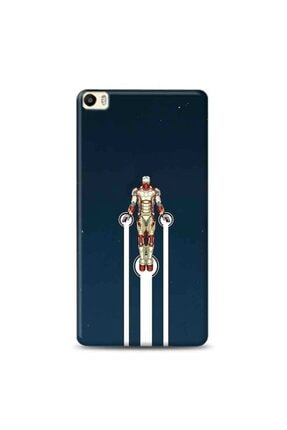 Desing World Huawei P8 Lite Uyumlu Iron Men Tasarımlı Telefon Kılıfı Man8