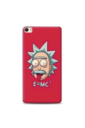 Desing World Huawei P8 Lite Uyumlu Rick And Morty Eınstein Tasarımlı Telefon Kılıfı Ram13