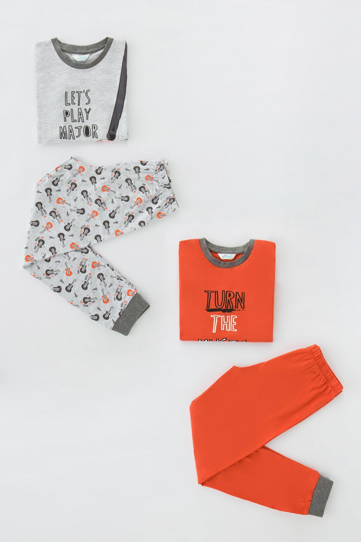 Penti Erkek Çocuk Pijama Takımı 4lü 1