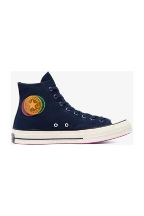 converse Chuck 70 Heart Of The City Hi Unisex Mavi Sneaker