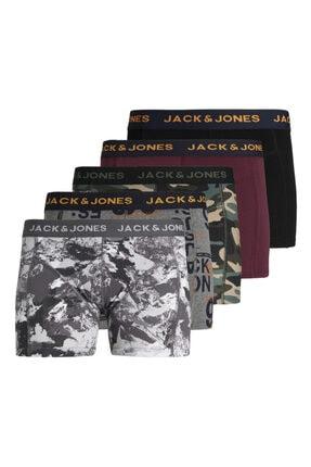 Jack & Jones 5'li Boxer Paketi 12196514 Jacpeta