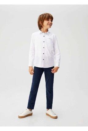 MANGO Kids Pamuklu gömlek