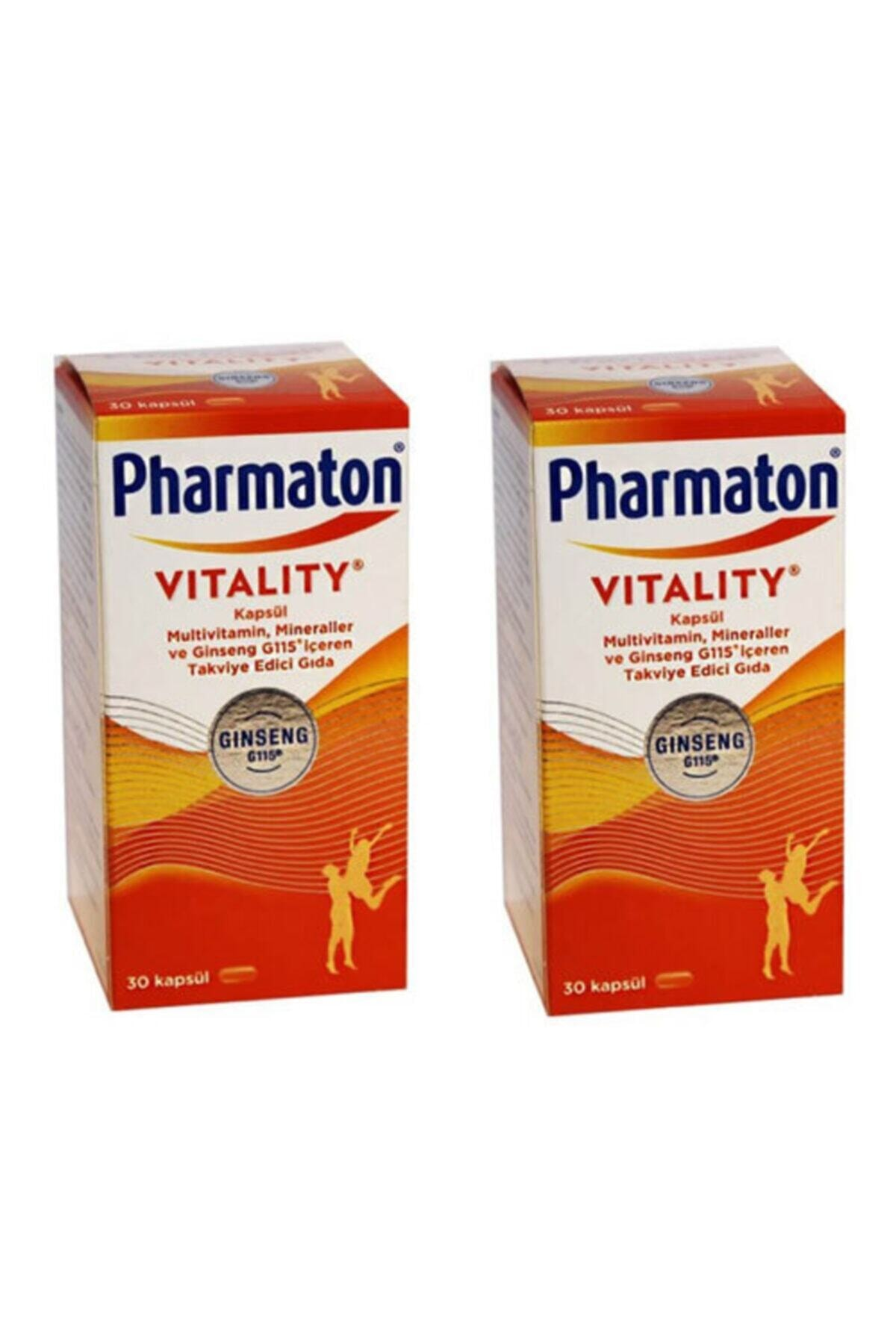 Pharmaton Vitality 30 Kapsül 2 Adet 1