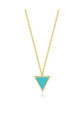 Lyra Design Kadın Mavi Dört Element Minimal Su Kolye