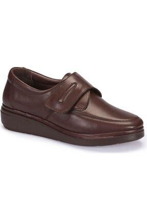 Polaris 5 Nokta Tam Ortopedik 62.107510 Hakiki Deri Kadın Ayakkabı