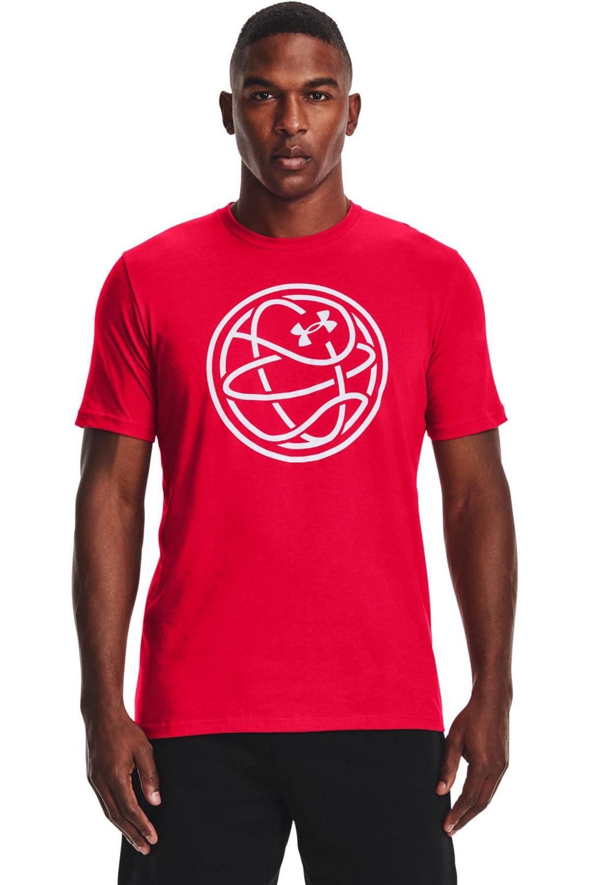 Under Armour Erkek Spor T-Shirt - UA HOOPS ICON TEE - 1361920-600 1